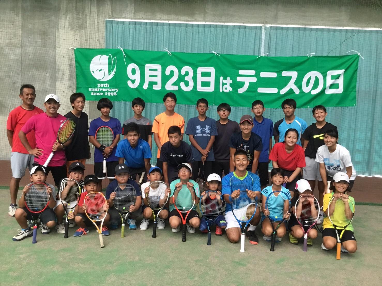 沖縄県「テニスの日」イベント【プロテニスプレイヤー比嘉明人オフィシャルブログ】