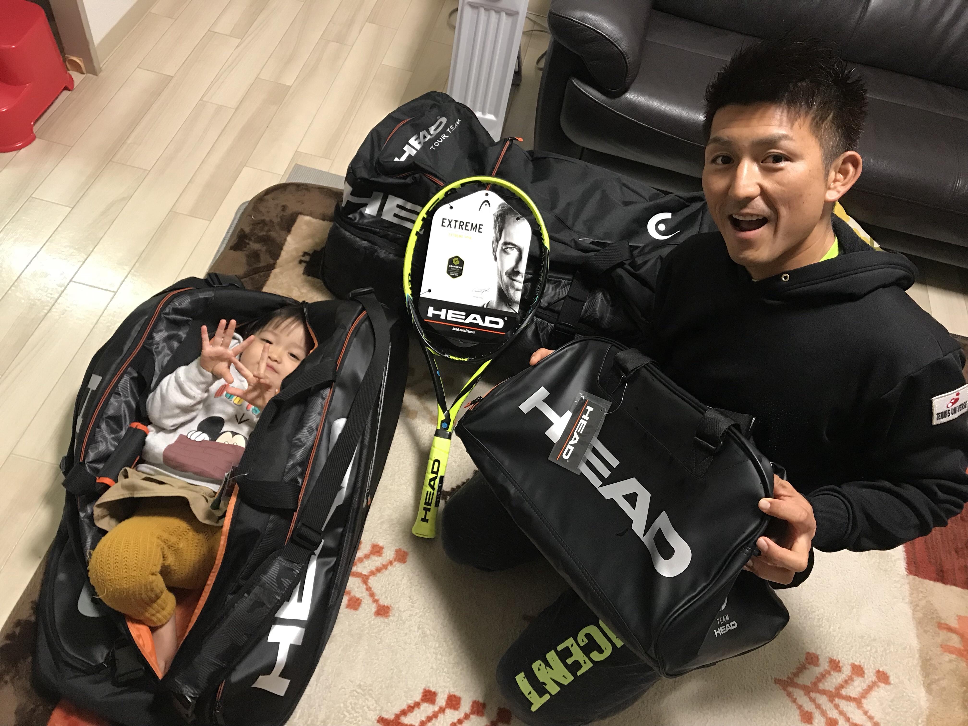 NEWアイテム【プロテニスプレイヤー比嘉明人オフィシャルブログ】