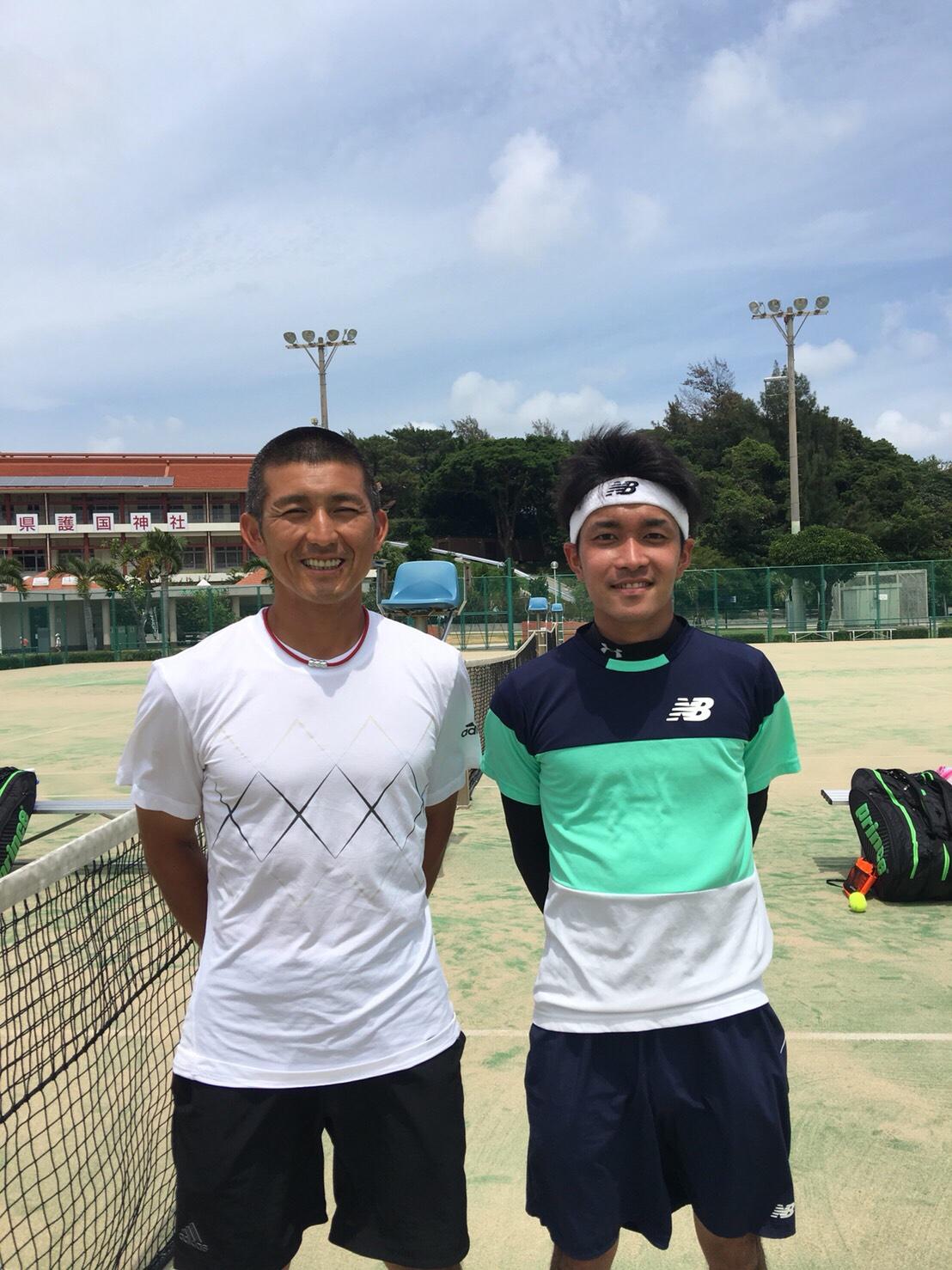 2018沖縄県国体予選【プロテニスプレイヤー比嘉明人オフィシャルブログ】