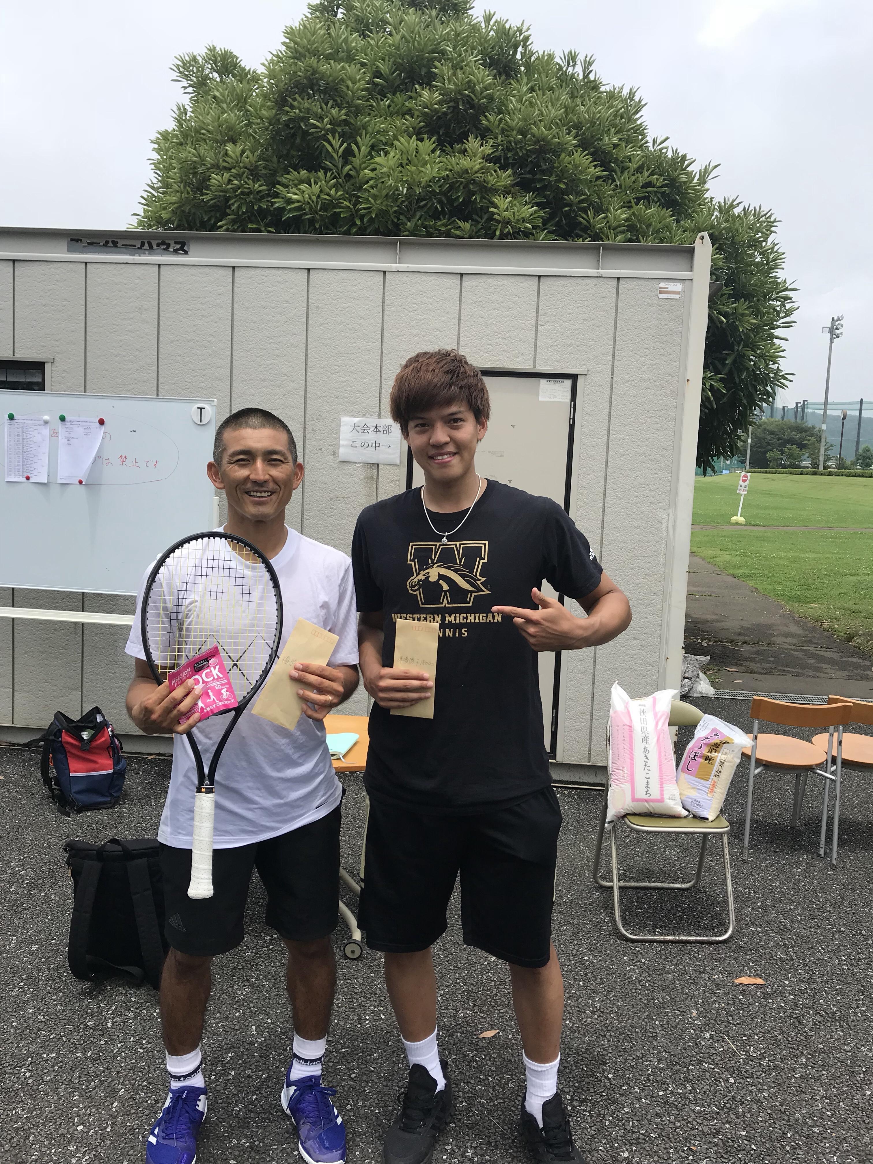2018 武蔵引田オープン 6月大会【プロテニスプレイヤー比嘉明人オフィシャルブログ】