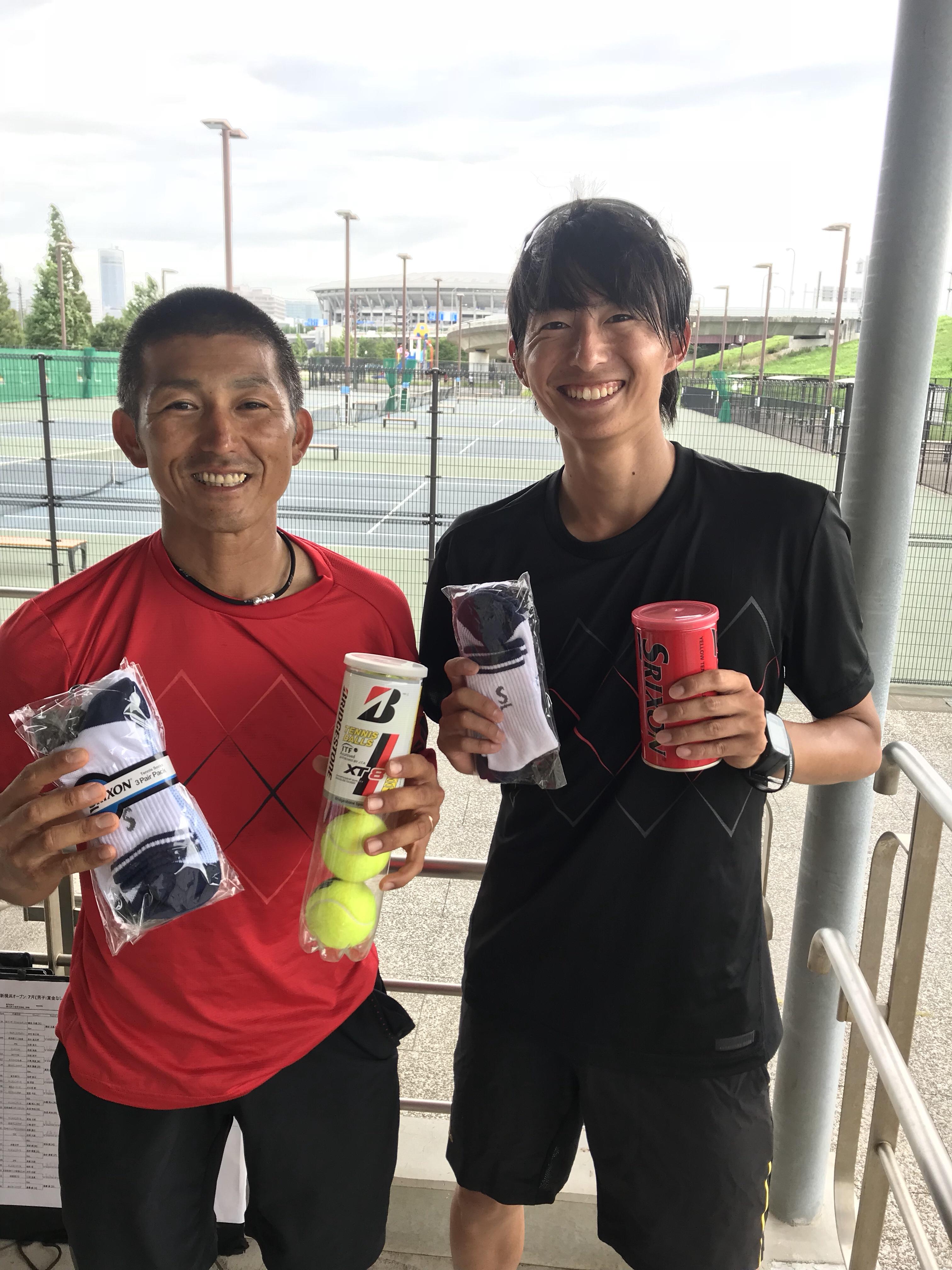 2018 神奈川新横浜オープン7月大会【プロテニスプレイヤー比嘉明人オフィシャルブログ】
