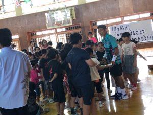 母校へ【プロテニスプレイヤー比嘉明人オフィシャルブログ】