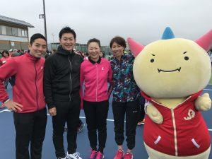 福井県営テニスコートオープニングイベント!【プロテニスプレイヤー近藤大生オフィシャルブログ】