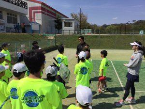 ダンロップスリクソンジュニアキャンプ西日本!【プロテニスプレイヤー近藤大生オフィシャルブログ】