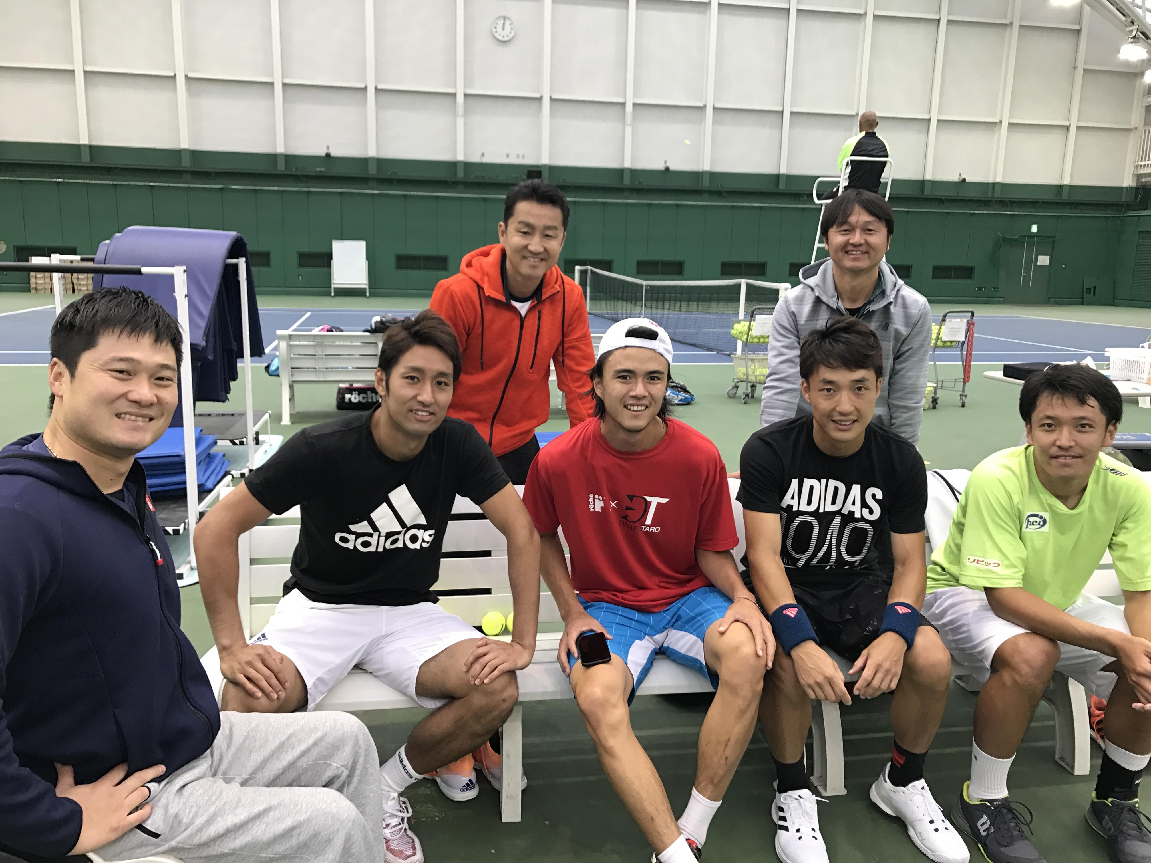 NTCで練習 | テニスコーチ増田健...