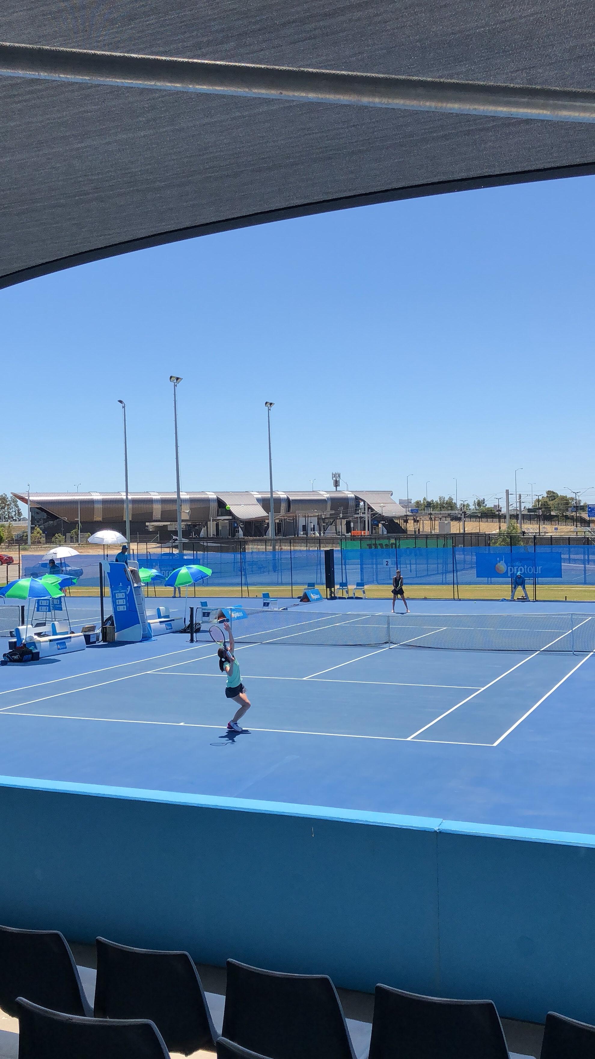 Perth2【プロテニスプレイヤー井上雅オフィシャルブログ -miyabiemみやびーむ-】