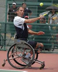 車いすテニス ロビン・アマーラン