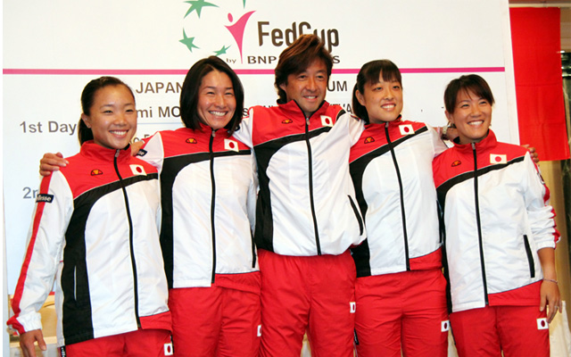 フェドカップ日本代表チーム