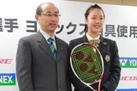 ウィンブルドンジュニア準優勝の石津幸恵がヨネックスと用具契約 最新テニスブログ 最新テニスニュース