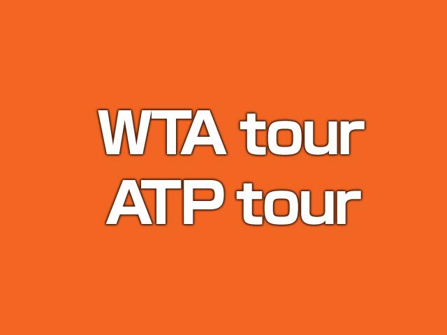 WTA tour ATP tour