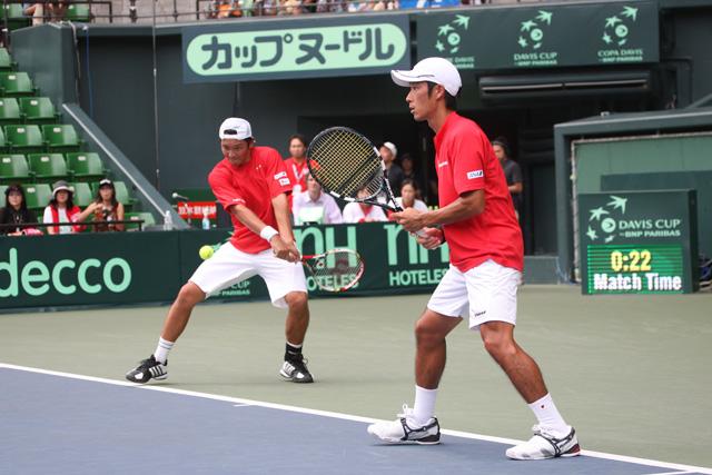 伊藤竜馬、杉田祐一ダブルス(テニス)
