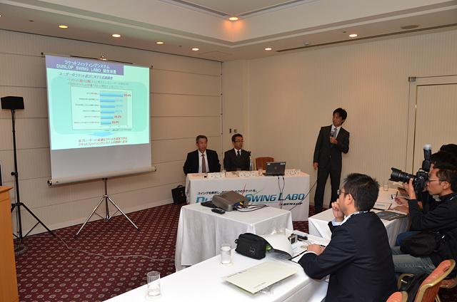 2012年10月15日(月)スイングラボ発表会でのシステム説明