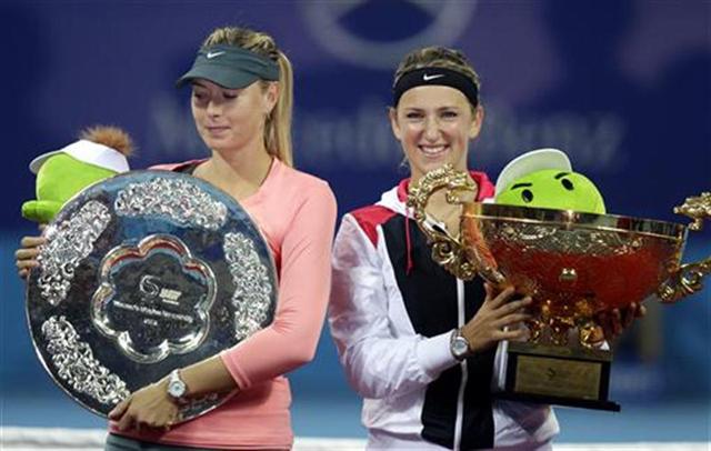 アザレンカ&シャラポワ(テニス)