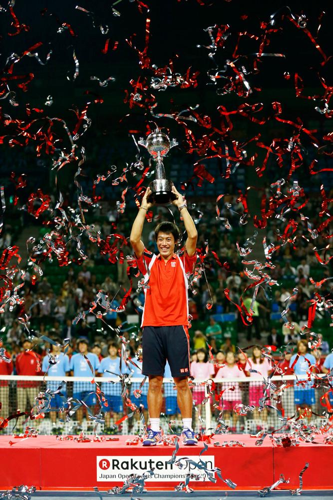 錦織圭(テニス)ジャパンオープン 優勝