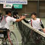 国枝、齋田(テニス)