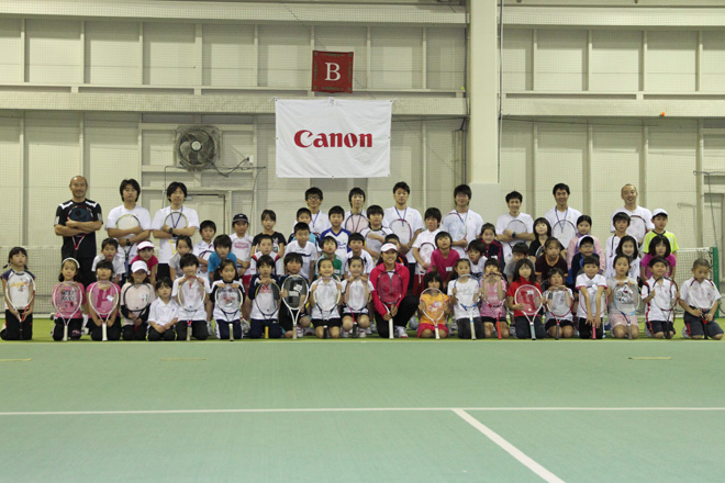 森田あゆみジュニアテニスクリニック(テニス)