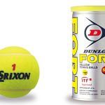 スリクソン、ダンロップテニスボール(プレゼント)