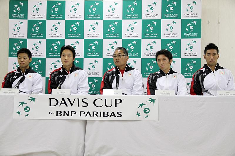 デビスカップ日本代表(テニス)