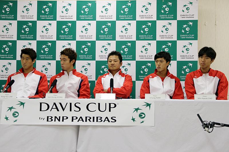 デビスカップ韓国代表(テニス)