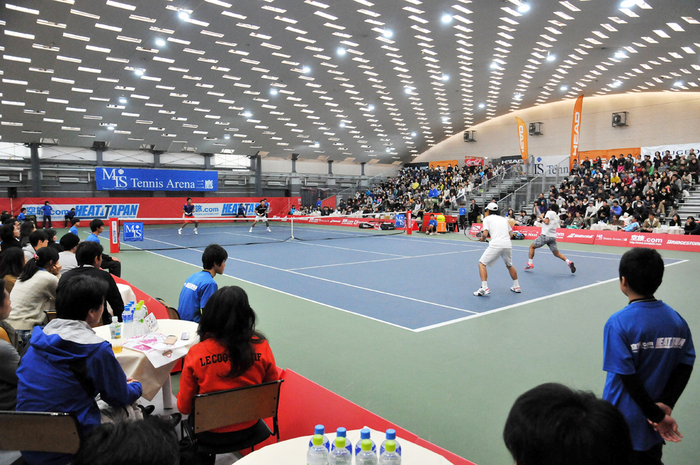 HEAT JAPAN2013試合会場(テニス)