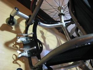 テニス用車椅子のチューニング