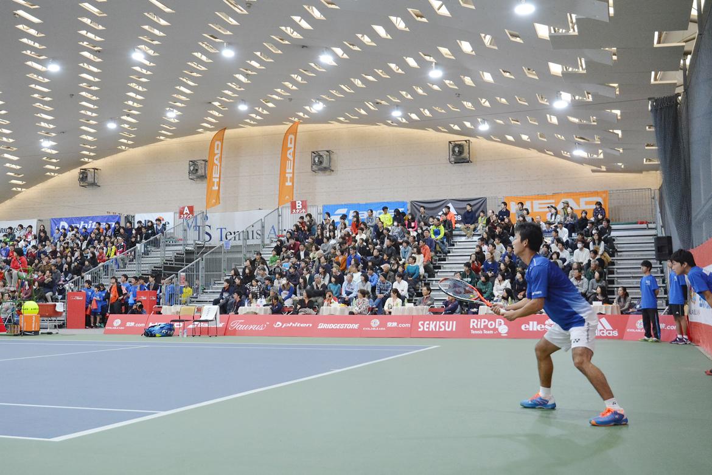 HEAT JAPAN試合風景(テニス)