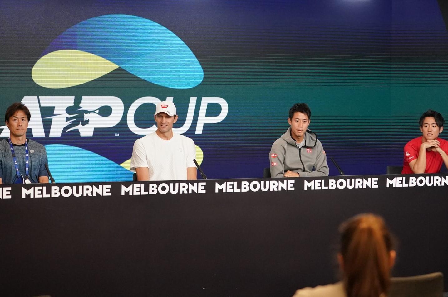 錦織圭2月3日メドベージェフと対戦 ATPカップ【ニュース – TENNIS.jp】