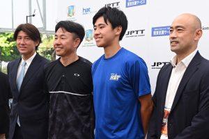 鈴木貴男と中川直樹がプレーを通して語り合った、テニスに対する「考え方」の共通点【ニュース – TENNIS.jp】