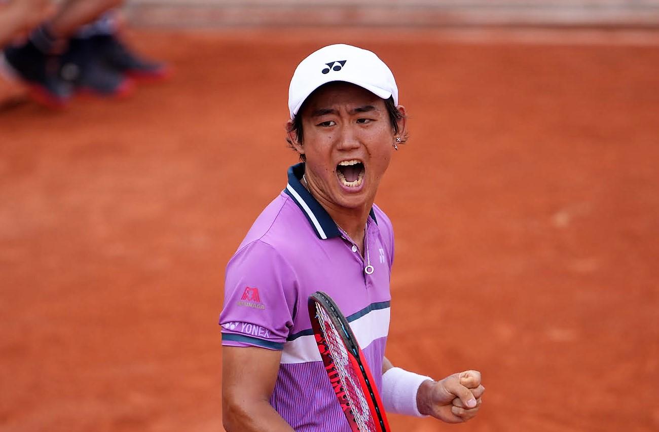 西岡良仁惜しかったストレート負け ビッグ3は順当勝ち【全仏オープン】【ニュース – TENNIS.jp】