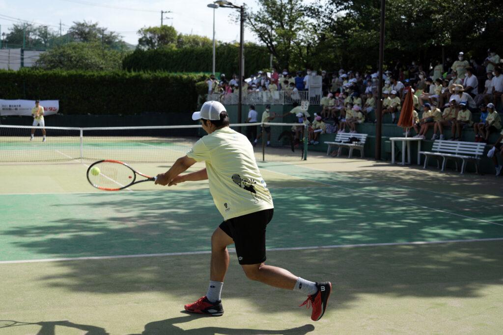 ジュニアのテニスをプロがアドバイス。新しい形の大会『杉山記一杯supported byリポビタン 第1回東日本大会』開催【ニュース – TENNIS.jp】